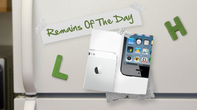 Remains of the Day: iPhone 5 Will Not Support Concurrent Voice and Data on Verizon and Sprint