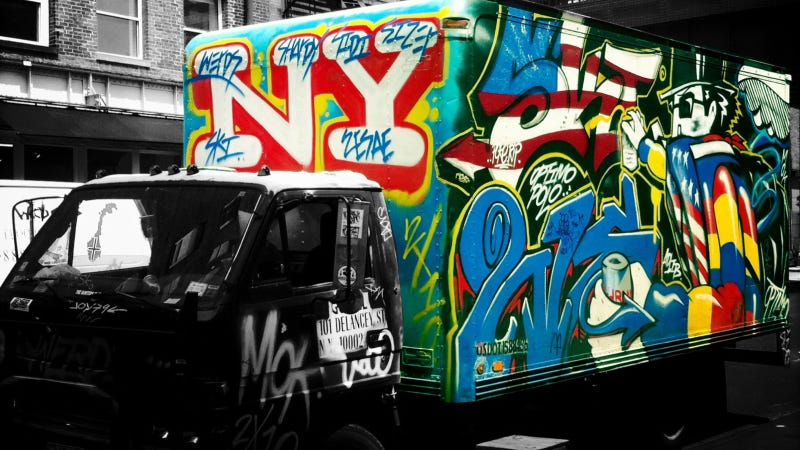 Your City's Finest Truck Graffiti