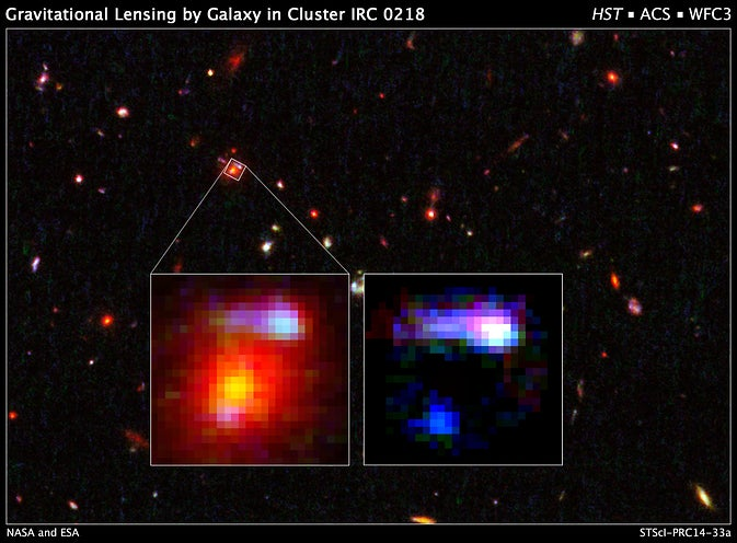 We Just Found the Most Distant Lensing Galaxy Ever