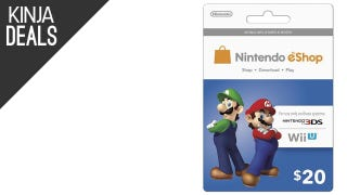 Save 10% on Nintendo eShop Gift Cards
