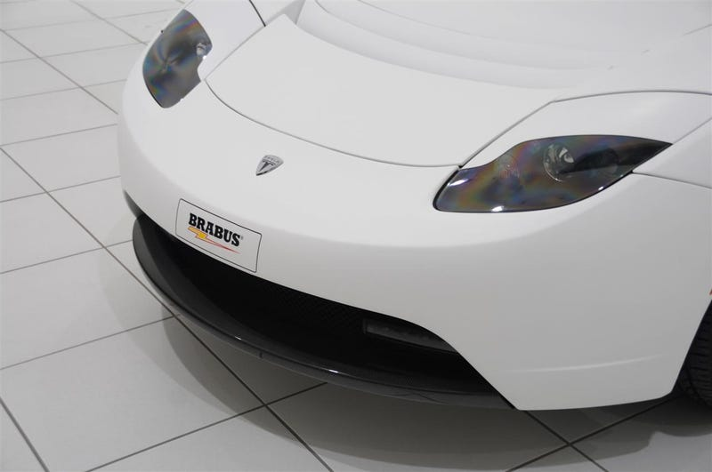 BRABUS Creates First Tuner Tesla Roadster, Mates Star Trek Sound Effects To Electric Car