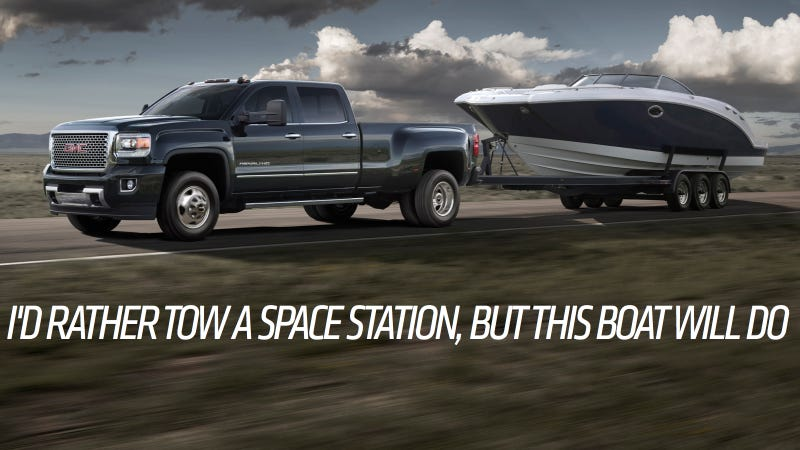 The 2015 GMC Sierra HD Is Basically A Freight Train You Can Drive