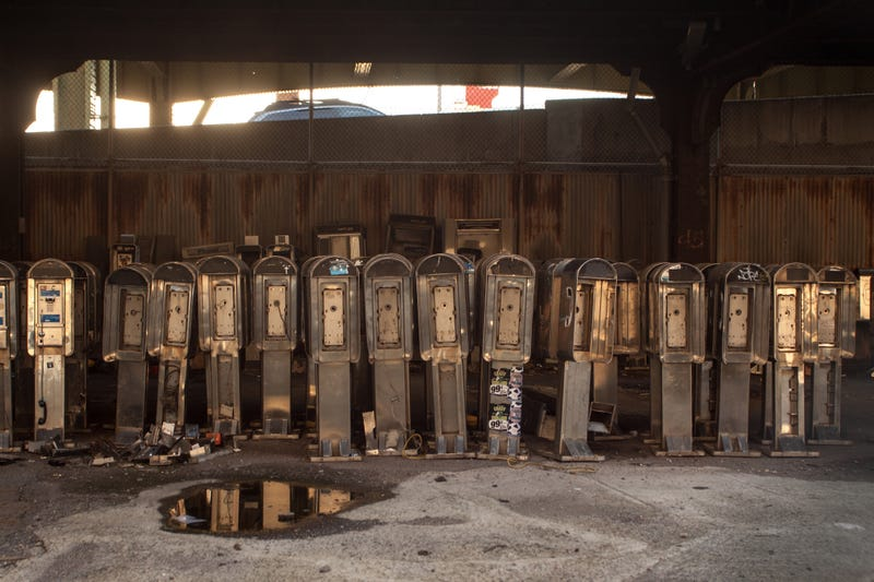 This Is Where Manhattan's Payphones Go to Die