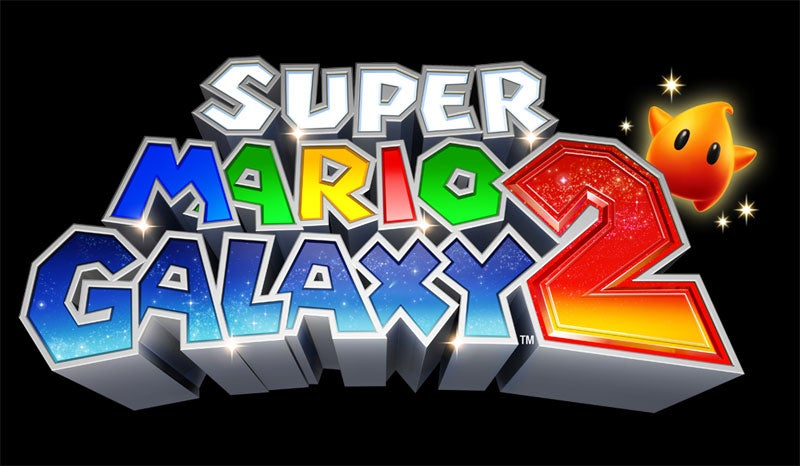 Super Mario Galaxy 2 Logo Has A Little Friend
