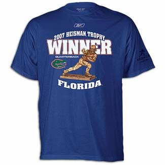 "We Congratulate ""Florida Quarterback"" On His Heisman Trophy"