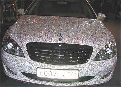 The Swarovski Covered Mercedes Benz: Class Defined