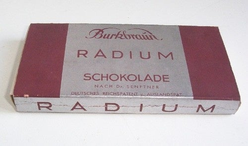 In the early 1900s, real men used radium suppositories