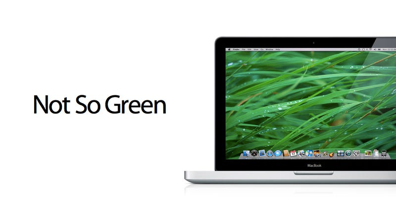 None of Apple's Computers Are Environmentally Friendly Anymore (Update)
