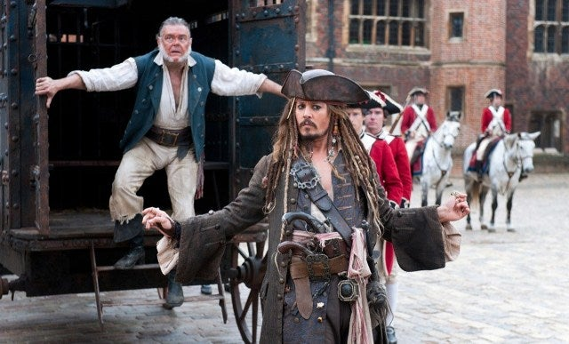 Pirates of the Caribbean 4: Captain Jack Sparrow can escape from anything... except a rut