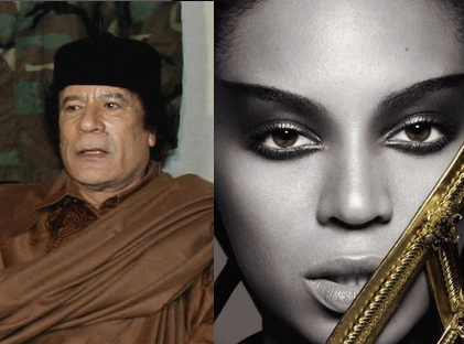 The Knowles-Gaddafi Conspiracy: Did Beyonce Rock New Year's for Libyan Dictator's Son?