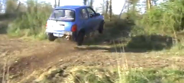 The Most Adorable Car Jump I've Seen In Ages