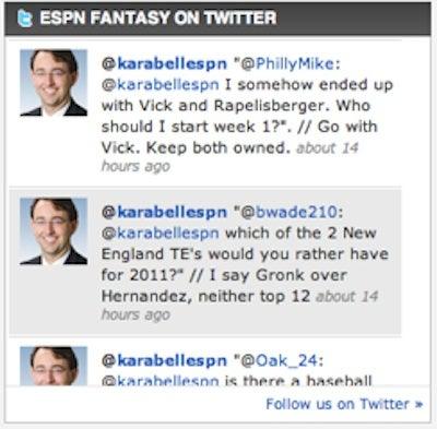 "ESPN's Fantasy Guru Thinks ""Rapelisberger"" Is Worth Having As Your QB"