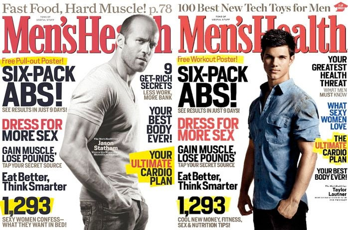 Men's Health Loved This Cover So Much They Used It Twice