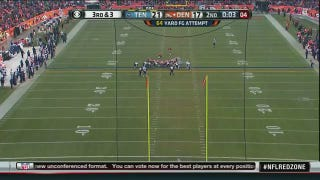 Matt Prater Makes Longest Field Goal In NFL History