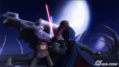Clone Wars On Wii: Wagglesabers