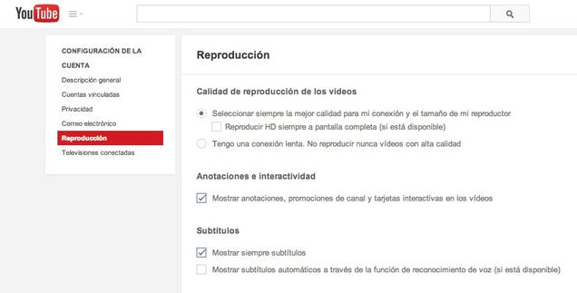 Cómo desactivar las notas y enlaces flotantes sobre vídeos de YouTube