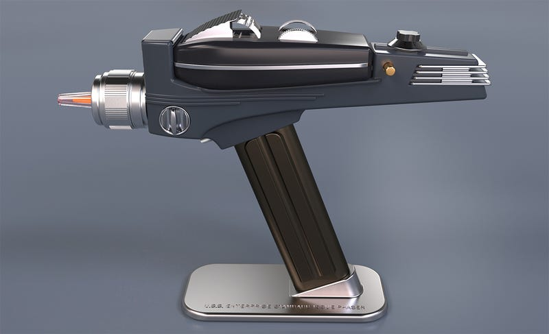 A Star Trek Phaser TV Remote Is Perfect For Fast Forwarding Enterprise