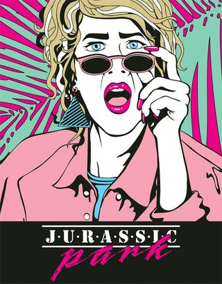 A deranged Jurassic Park art show (with absolutely no dinosaurs)