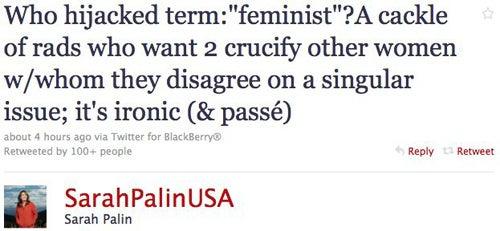 Sarah Palin On Feminism