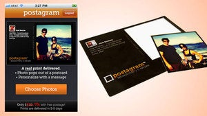 Send a Photo Postcard for $0.99 via Postagram