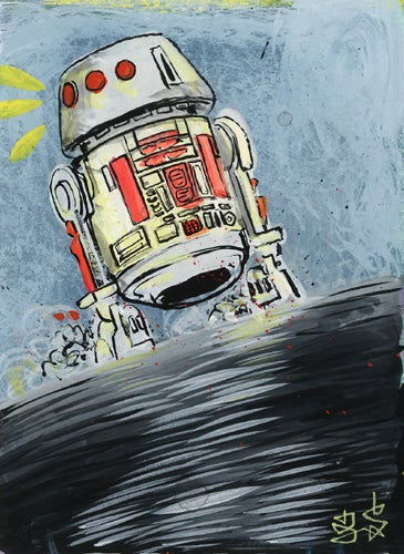 The larger-than-life adventures of classic Star Wars toys