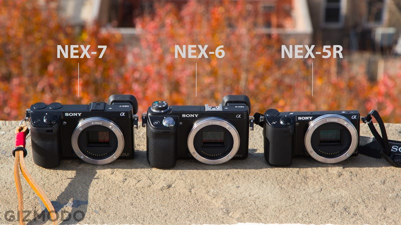 Sony NEX-6 Gallery: Product Shots