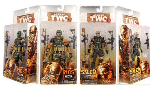 Army of Two Action Figures Hit Stores, Fistbump Castle Playset Sold Seperately
