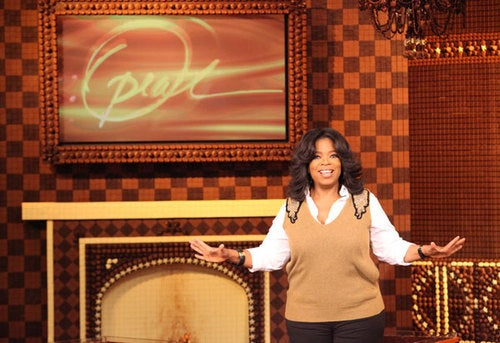 Oprah Constructs Edible Chocolate Television Studio, Because Who Dares Stop Her?