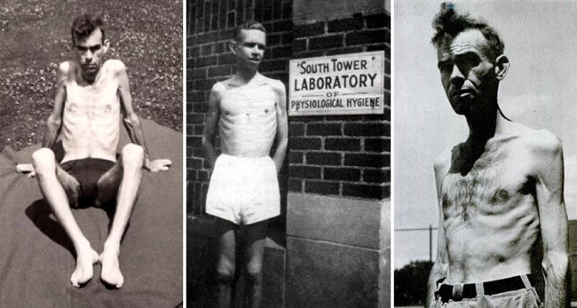 The US wartime experiment that starved men almost to death