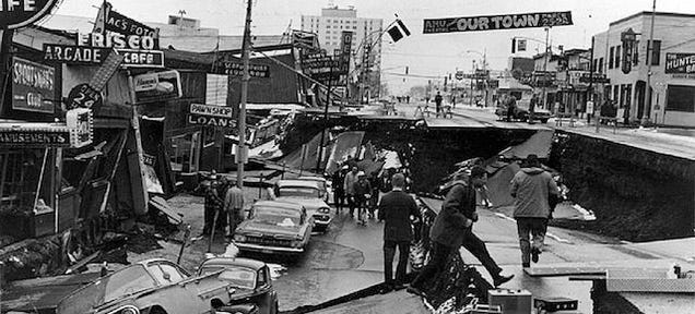At 5 36 p m on march 27 1964 a 9 2 magnitude earthquake erupted 78