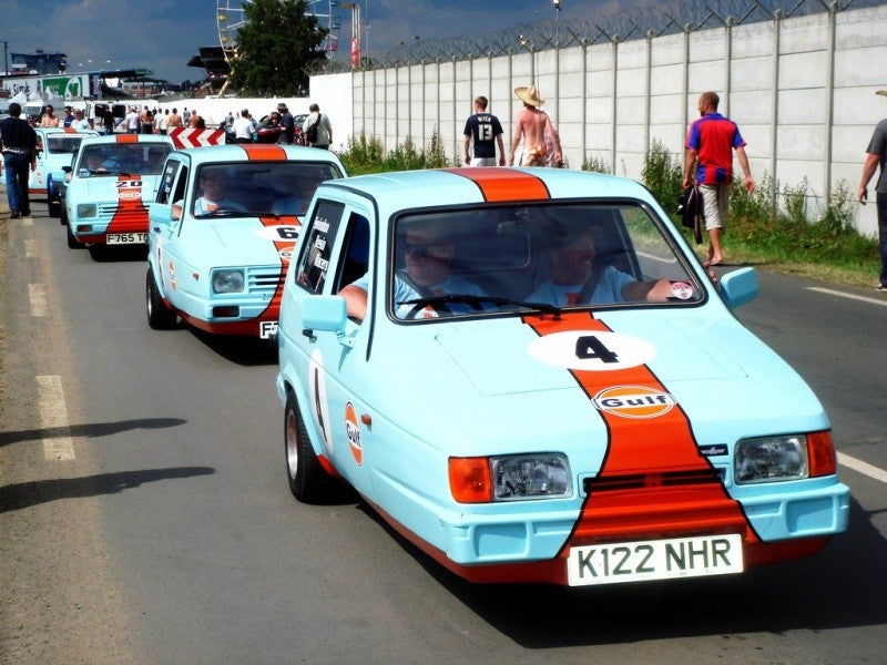 Is there anything the Gulf livery won't work with?