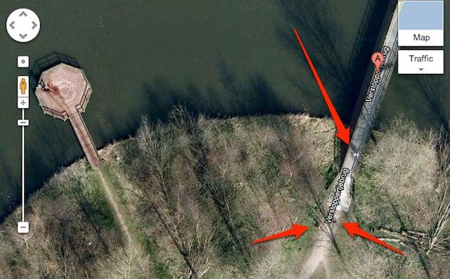 ¿Google Maps reveló una escena de crimen o nada es lo que parece?