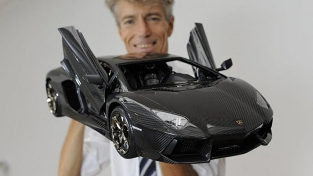 Toy Lamborghini costs 15 times more than real Lamborghini
