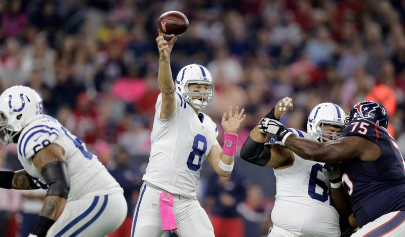 Colts coach Chuck Pagano: Matt Hasselbeck was 'literally on his deathbed'