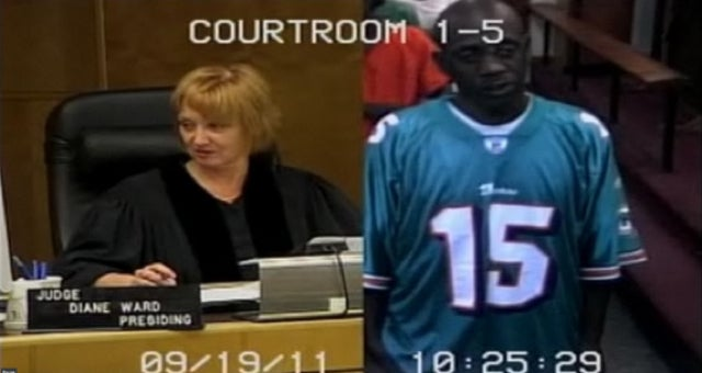 Man Arrested For Stealing Dolphins Jerseys Shows Up To Court In A Dolphins Jersey
