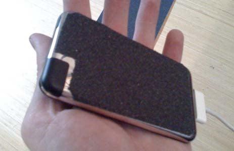iPod+Skateboard=No More Dropping
