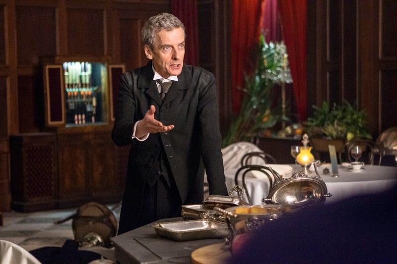 Peter Capaldi Is Already Carrying Doctor Who On His Amazing Shoulders