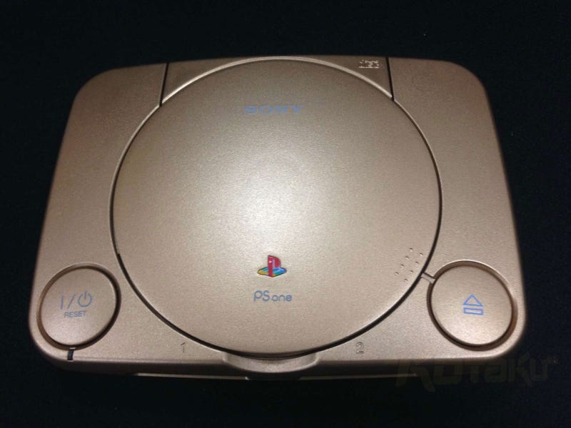 The Golden PS1 Is A Sony Fanboy's Dream