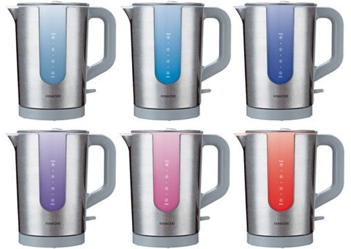 Kenwood Response Kettle Changes Color As it Heats