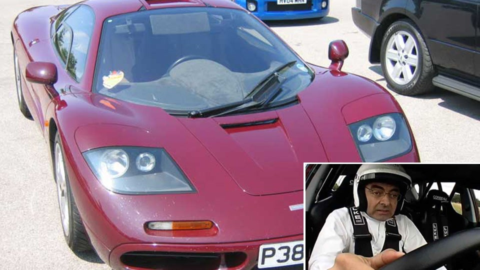 Mr Bean Lucky To Be Alive After Mclaren F1 Crash