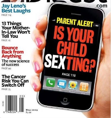 Neither Man nor God Can Stop Kids From Sexting All the Time