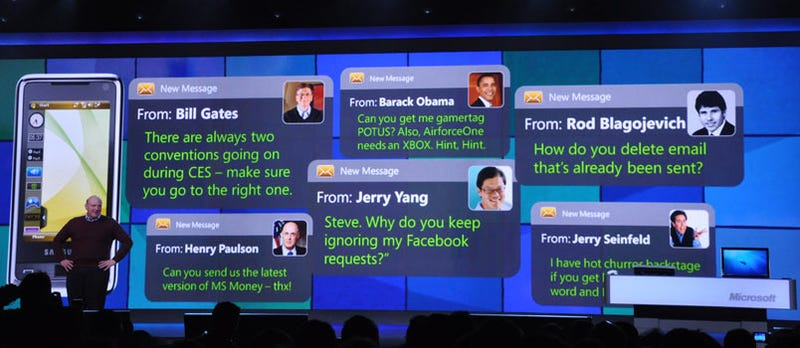 Ballmer's Wacky Text Messages