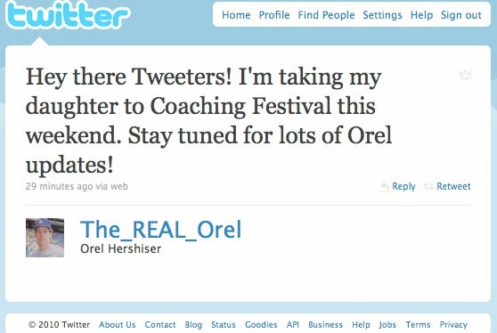 Orel Hershiser Goes To Coachella: The Lost Tweets