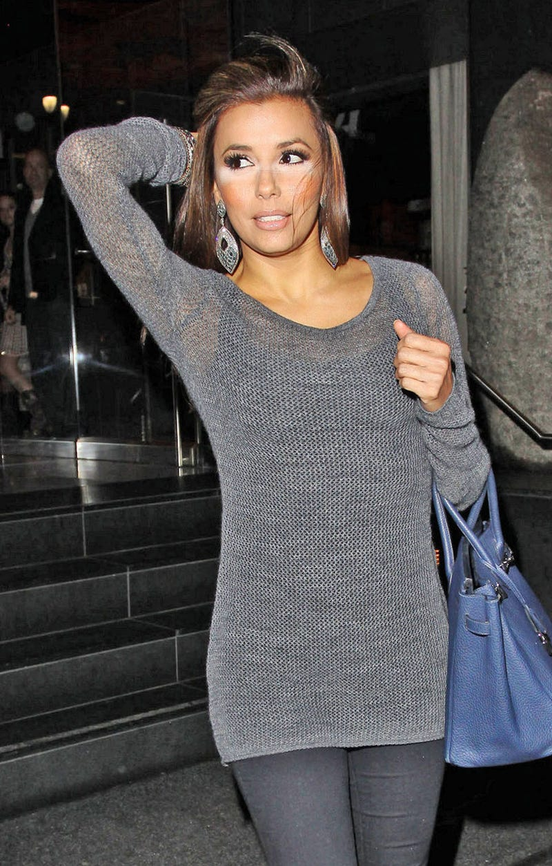 Eva Longoria Can't Shake the Feeling that She Forgot Something