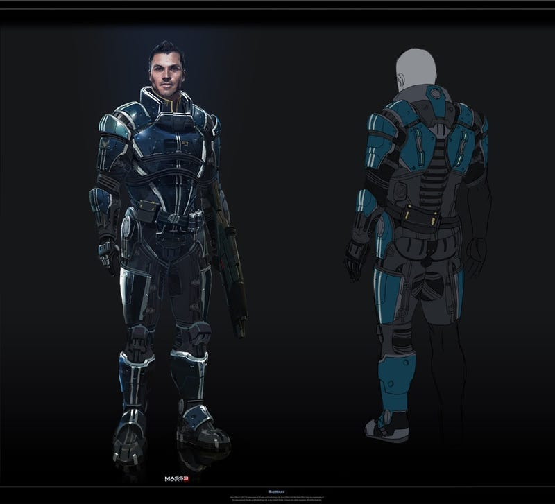 Stunning Mass Effect Portraits (And Dragon Age on a Leash)