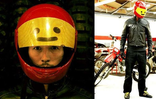 Lego Minifig Biker Helmet is the Ultimate in Toy-Based Cosplay