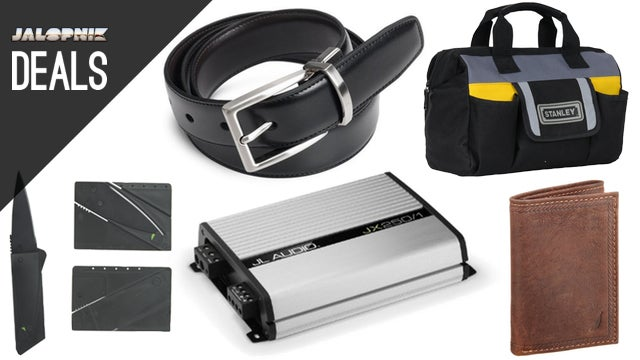 Upgrade Your Car's Sound System, $10 Tool Bag, Credit Card Knife
