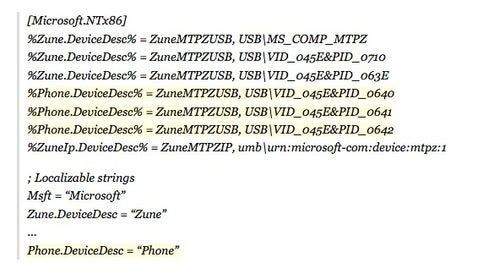 Three Phones Show Up In Zune Software, But What Are They?