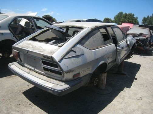 This Junkyard Alfa Romeo GTV6 Won't Get To Go Out In A Blaze Of Racin' Glory
