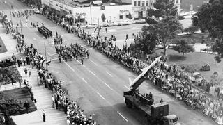 In Cold War LA, Nuclear Missiles Starred in Veterans Day Para